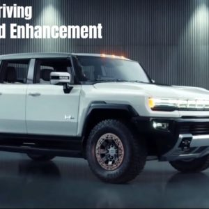 2022 Hummer EV Electric Truck One Pedal Driving and Sound Enhancement