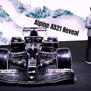 Alpine A521 Formula 1 Reveal