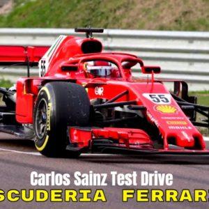 Carlos Sainz Starts His Formula 1 With the Scuderia Ferrari