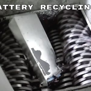 Electric Vehicle Battery Recycling Facility