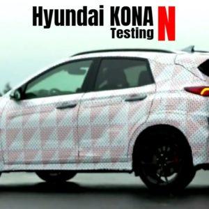 Hyundai KONA N Testing and Closer look