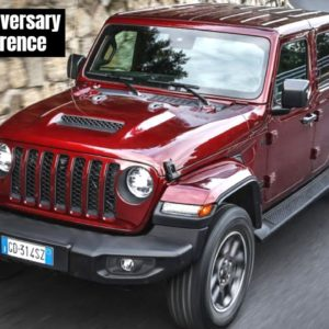 Jeep 80th Anniversary History and Innovation Press Conference