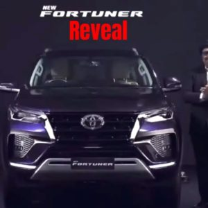New 2021 Toyota Fortuner India Reveal