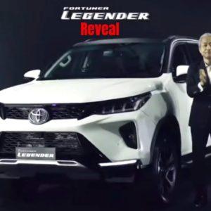 New 2021 Toyota Legender India Reveal
