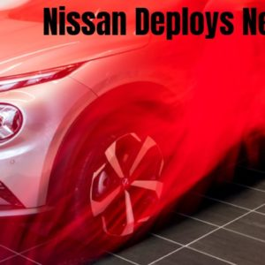 Nissan New Logo at European Dealerships