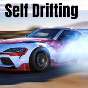 Self Drifting Toyota GR Supra