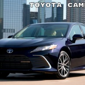 Toyota Camry XLE 2021 Model Year Exterior and Interior