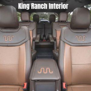 2021 Ford Explorer King Ranch Interior
