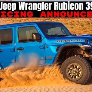 2021 Jeep Wrangler Rubicon 392 Launch Edition Pricing Announced
