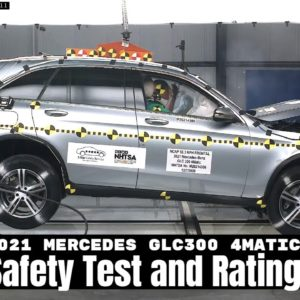 2021 Mercedes GLC 300 4Matic Safety Test and Rating