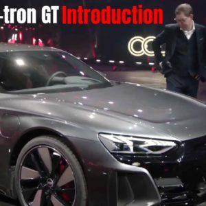 Audi RS e−tron GT Introduction