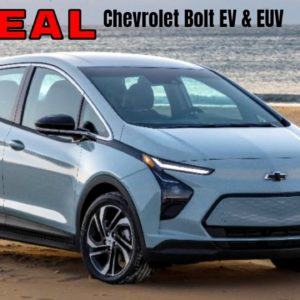Chevrolet Bolt EV & EUV 2022 Model Reveal