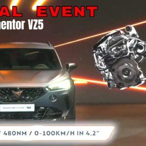 Cupra Formentor VZ5 Reveal Event