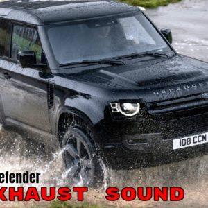 Land Rover Defender V8 Engine and Exhaust Sound