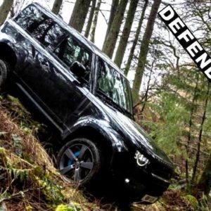 Land Rover Defender V8 Off Roading Capabilities