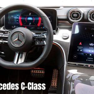 Mercedes C-Class Sedan and Estate Interior 2022