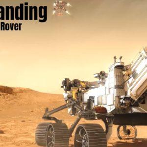 NASA Perseverance Mars Rover Landing