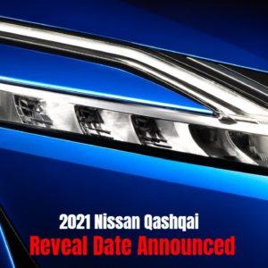 New 2021 Nissan Qashqai Reveal Date Announced