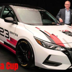 New 2021 Nissan Sentra Cup Car