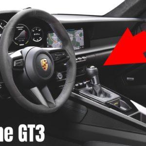 New Porsche 992 GT3 911 Interior 2022