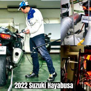New Suzuki Hayabusa 2022 Engine