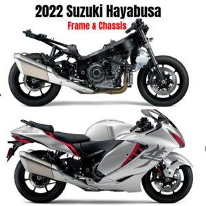 New Suzuki Hayabusa 2022 Frame and Chassis