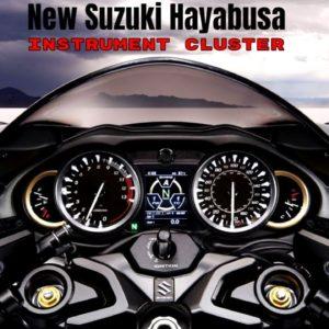 New Suzuki Hayabusa 2022 Instrument Cluster