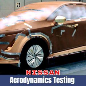 Nissan Ariya Aerodynamics Testing