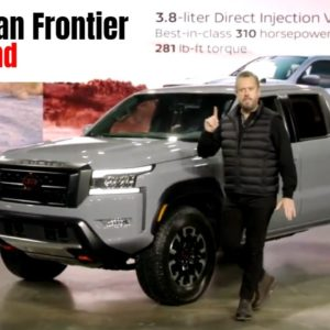 Nissan Frontier 2022 Model Truck Walkaround