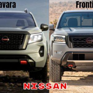 Nissan Navara vs Nissan Frontier Design