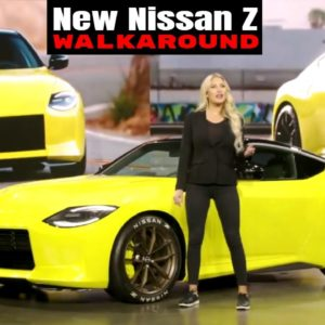 Nissan Z Proto Walkaround and Introduction