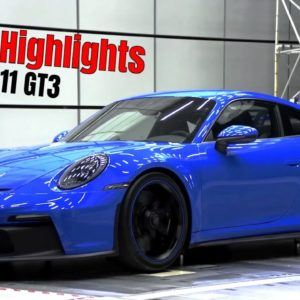 Porsche 911 GT3 Reveal Highlights
