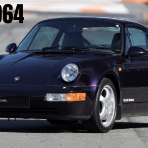 Porsche 911 Type 964 Produced From 1988 to 1994