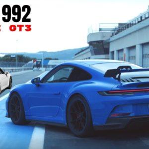 Porsche 992 GT3 vs Porsche 991 GT3 Nuerburgring Lap