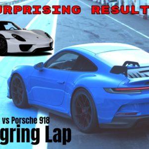 Porsche GT3 992 vs Porsche 918 Nurburgring Lap