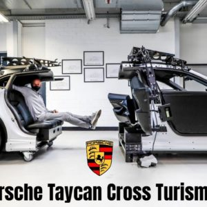 Porsche Taycan Cross Turismo EV Interior Development