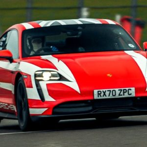 Porsche Taycan Establishes 13 British Endurance Records