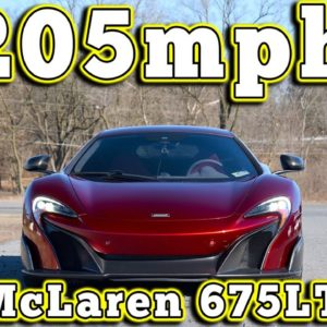 2016 McLaren 675LT: Regular Car Reviews