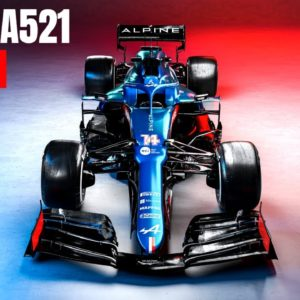 2021 ALPINE F1 Team Reveal The New A521 Car Launch