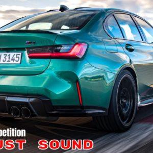 2021 BMW M3 Competition Sedan Exhaust Sound