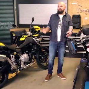 2021 BMW Motorrad Black Collection Storage Space