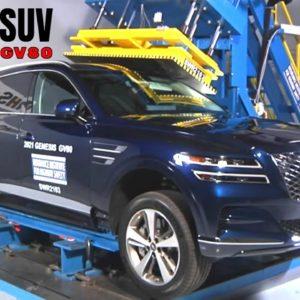 2021 Genesis GV80 SUV Earns Highest Safety Award