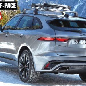 2021 Jaguar F PACE Design Performance and Technology