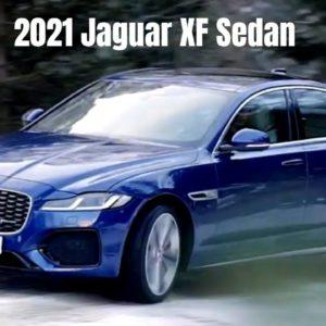 2021 Jaguar XF Sedan Performance Technology and Design
