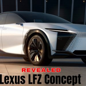 2021 Lexus LFZ Concept Revealed