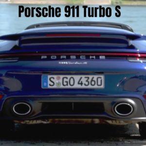 2021 Porsche 911 992 Turbo S Cabriolet Open Top Supercar
