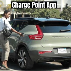 2021 Volvo XC40 Recharge Charge Point App