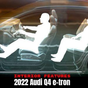 2022 Audi Q4 e-tron High Tech Interior Features