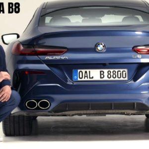 2022 BMW ALPINA B8 Gran Coupe Presentation