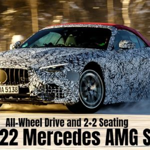 2022 Mercedes AMG SL Will Have AWD